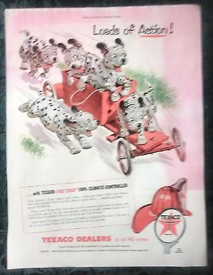 VINTAGE AD FROM 1950's SATURDAY EVENING POST - TEXACO