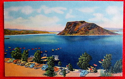 Elephant Butte Lake Beach and Boat Landing New Mexico c
