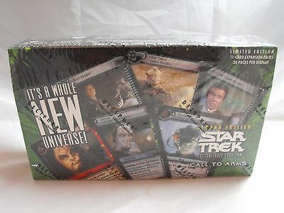 Star Trek Ccg 2E Call To Arms Complete Sealed Box Of 30 Packs