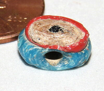 Ancient Islamic Bead Evil Eye Glass About 1400yo