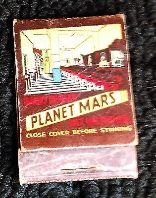 4 Vintage Chicago Bartel's Colosimo's Club So-Ho Planet Mars Matchcovers