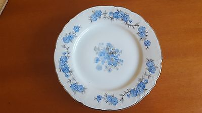 "Vintage Fine Bohemian China 7"" Bread Plate  Made In Czechoslovakia"