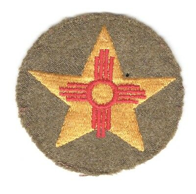 Army Patch:  56th Cavalry Brigade - embroidered on wool