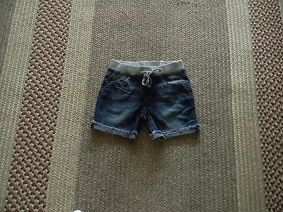 Nwt Justice Girls Knit Waist Denim Shorts 7