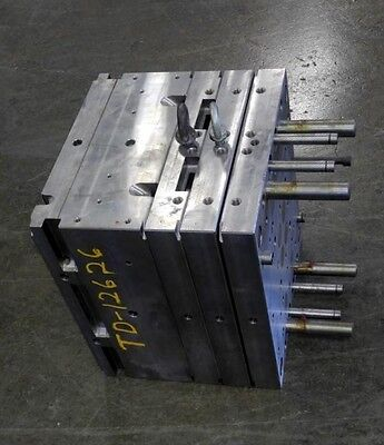 """Used Plastic Injection Mold Base 15"""" Long X 13-1/2"""" Wide X 12-1/4"""" High Td-12626"""