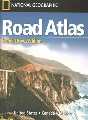 Road Atlas: Scenic Drives Edition (United States, Canada, Mexico) 9781566957069