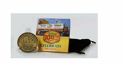 Nathan's Famous 100th Anniversary Commemorative Zinc Coin Coney Island - NEW