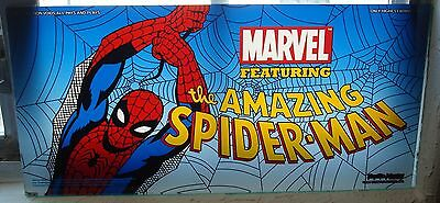 """Marvel's """"The Amazing Spider-Man"""" Slot Machine Belly Glass! Very Rare! Very Cool"""