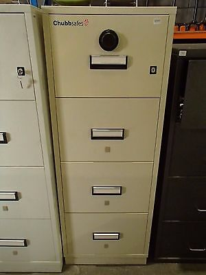Chubb Filing Safe Beige Metal - Locked 30356/8