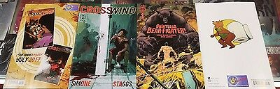 CROSSWIND + SHIRTLESS BEAR FIGHTER #1 JESSE JAMES COMICS EXCLUSIVE  Image Comic