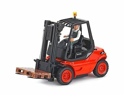 C907093 CARSON 1/14th LINDE  H40 D FORK LIFT TRUCK R/C RADIO CONTROL RTR 2.4GHz