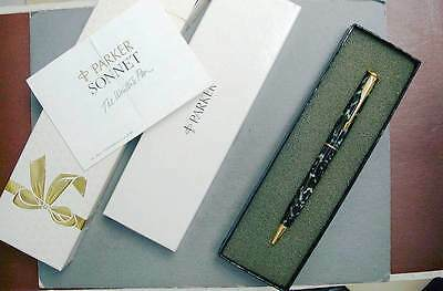 Parker Sonnet Ball Point Pen In Moonglow New In Box
