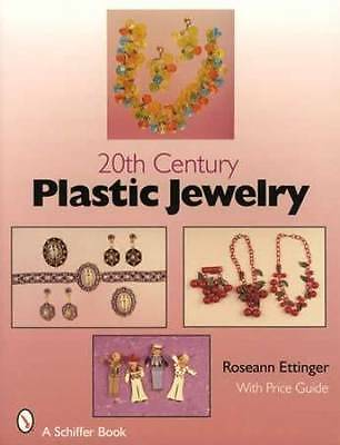 Vintage 20th Century Plastic Jewelry Collector $ID Guide incl Bakelite Celluloid