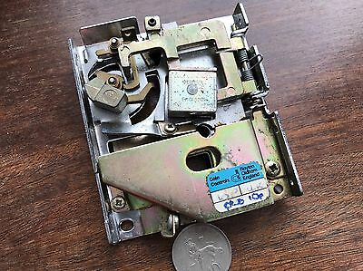Coin Controls S10 Coin Mech. OLD 10p. Fruit Machine, Arcade, Jukebox. Tested