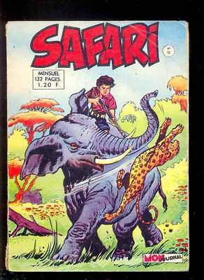 MON JOURNAL : SAFARI n°15, 1968