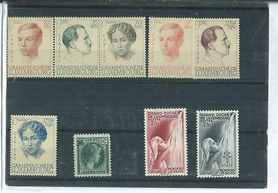 A Nice Selection Of Mint Luxembourg Stamps