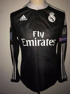 Cristiano Ronaldo Real Madrid match worn issued shirt CL 14/15 rare 3rd Portugal