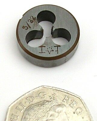 "5/32"" BSW Whitworth Threading Meccano Die Nut Studding Bolt Model Engineering"