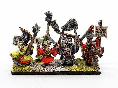 Warmaster Empire FLAGELLANTS (one stand) Superbly Painted Citadel 34162