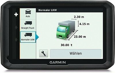 "Garmin Dezl 770 Lmt-D Europa Lkw-Truck Navigation Lifetime Map 17,8Cm 7"" Display"