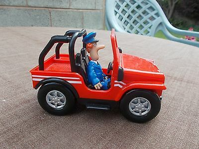 ''pat 7'' Jeep With Postman Pat Figure -Used//unboxed