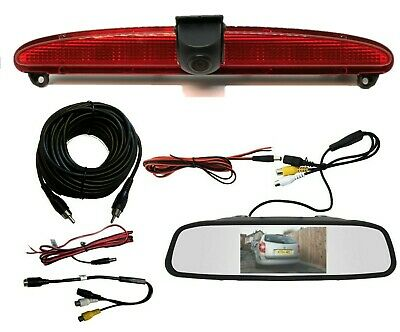 Iveco Daily Van Reversing Reverse Parking Rear View Camera Kit 2006 - 2014