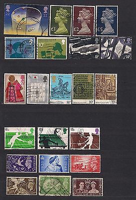 Great Britain lot of 47 early stamps.