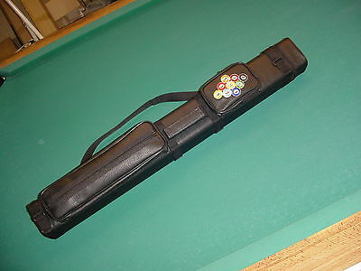 EMBROIDERED 2X4 CUE CASE SAVE $$ pool billiards CARLSCUES EBAY A01-2117