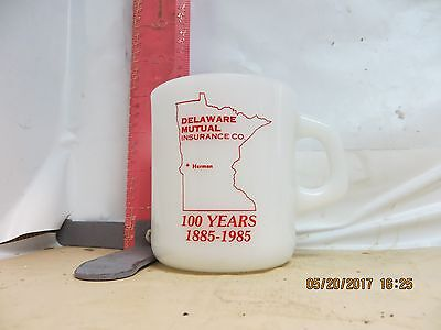 Delaware Mutual Insurance Company Mug - Galaxy Oven Proof , Made In Usa - No Dam