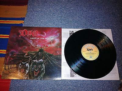 "Dio - lock up the wolves - 12""lp 1990 a2/b1 ex/vgc"
