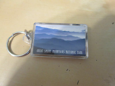 Great Smoky Mountains National Park Keychain w/thermometer and compass