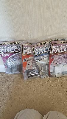 Build The Millennium Falcon Issues 9 10 11 12 New