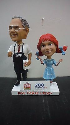 200 Columbus Bicentennial - Dave Thomas & Wendy  Bobblehead New In The Box