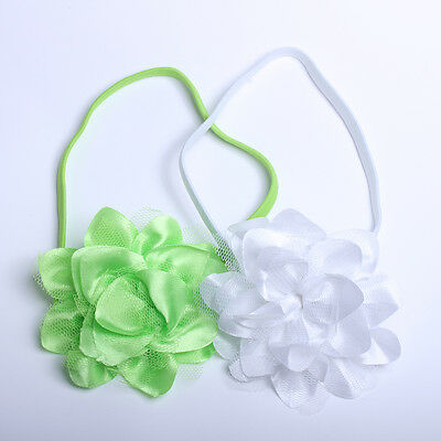 2pcs Big Flower Hair Band For Girls Headbands Headdress