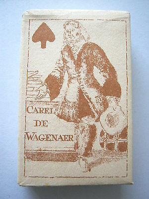 Carel De Wagenaer 1697 Facsimile Deck 1975 With Wrapper Vintage Playing Cards