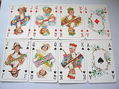 Vintage Playing Cards Stunning Court Card Only Set Of 16 Court & Ace Cards [7]