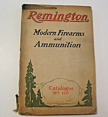 Antique Remington 1923 Firearms & Ammo Catalog ~ See All Our Gun Parts & Items