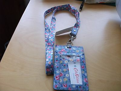 New with tags cath kidston lanyard with I.D holder Little flower buds