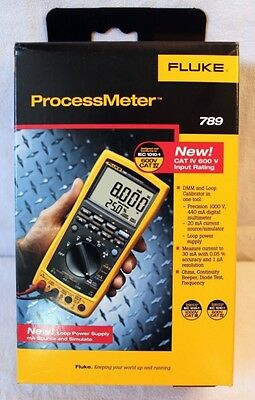 BRAND NEW IN BOX - Fluke 789 Processmeter  **New in Box**  -  MSRP $995
