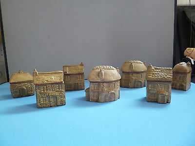 Charmouth Pottery Village - 7 items