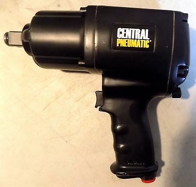 """Central Pneumatic 60808 3/4"""" Heavy Duty Impact Wrench"""