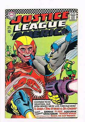 Justice League of America # 50 The Lord of Time ! grade 5.5 scarce book !!