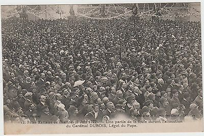 28 - Chartres Cpa Fetes Mariales Juin 1927 Animee Allocution Cardinal Dubois