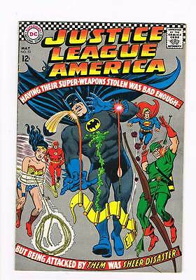 Justice League of America # 53 Stolen Super-Weapons ! grade 5.5 scarce book !!