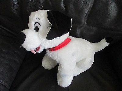 101 DALMATIANS medium Patch beanie bean plush soft toy VGC Disney Store