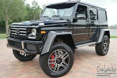 2017 Mercedes-Benz G-Class  Mercedes Benz G550 4x4 squared loaded leather premium Crave Luxury Auto.