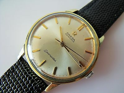 Gent's Vintage Gold Capped Cal.552 Omega Seamaster Automatic Wrist Watch