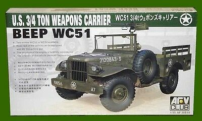 1/35 AFV Club 35S15; US WC-51 BEEP 3/4 TON Weapons Carrier