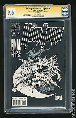 Marc Spector Moon Knight (1989) #60 CGC 9.6 SS 1111926021