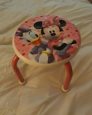 minnie mouse childrens stool